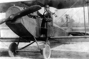 Bessie Coleman, circa 1922.